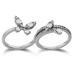 Find the Aerial Double Ring – Diamond Intensive at Hearts On Fire! This double rings features diamonds that create the look of a butterfly. Heart Jewelry, Jewelry Rings, Fine Jewelry, Jewellery, Diamond Rings, Diamond Jewelry, Diamond Cuts, Jewelry Shop, Jewelry Accessories