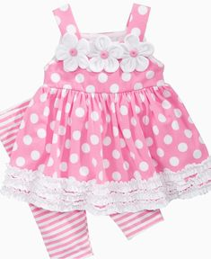 Baby Girl Clothes at Macy's come in a variety of styles and sizes. Shop Baby Girl Clothing at Macy's and find newborn girl clothes, toddler girl clothes, baby dresses and more. Toddler Dress, Toddler Outfits, Baby Outfits, Toddler Girl, Kids Outfits, Baby Girls, Little Dresses, Little Girl Dresses, Girls Dresses
