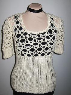 On Ravelry; Bettie Sweater