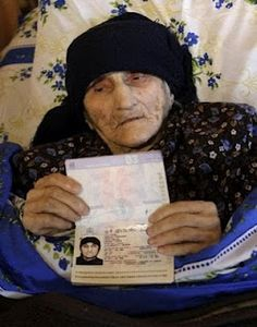 Oldest Person in Recorded HistorySky Today Antisa Khvichava from a former Soviet republic of Georgia turned 132 years old.The woman was born on July 8, 1880