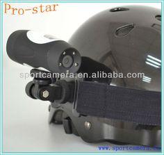 waterproof sport helmet camera 1. 1.3M CMOS sensor 2. 115 degree view angle 3. underwater 10m 4. 5 Mega pixels