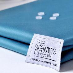 Cotton & Viscose The Sewing Crew Tessuti Cotton Viscose, Sewing, Handmade, Dressmaking, Hand Made, Couture, Stitching, Sew, Costura