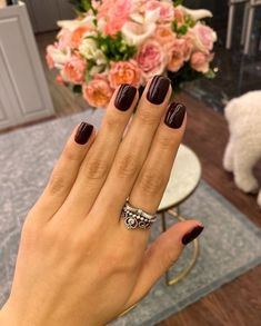 Classy Nails, Stylish Nails, Simple Nails, Trendy Nails, Cute Nails, Oval Nails, Pink Nails, Manicure Y Pedicure, Neutral Nails