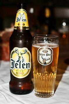 Popular Serbian beer. Jelen pivo :)