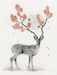 deer drawing                                                                                                                                                                                 More