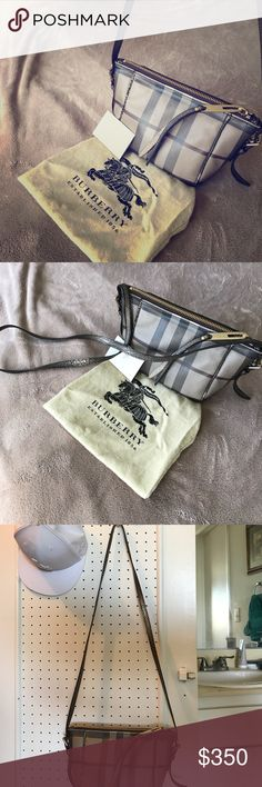 Authentic 💎 Burberry cross body checkered bag It's in perfect condition !! Used few times .. guaranteed 100 percent authentic ... I bought it myself from Nordstrom & its limited edition !! 🍷 ((always open to offers)) 🌸🌹🌸 Burberry Bags Crossbody Bags