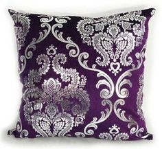 purple and grey cushions - Google Search