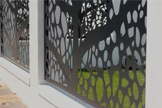 BuildDirect Africa - Laser Cutting and CNC Routing Laser Cut Aluminum, Laser Cut Metal, Laser Cutting, Building Exterior, Building Facade, Building An Addition, Laser Cut Screens, Exterior Cladding, Stair Railing