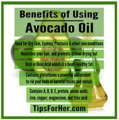 It tastes great, with benefits for your skin and hair.  Here are 5 ways how avocado oil can help benefit and keep you and your body healthy.