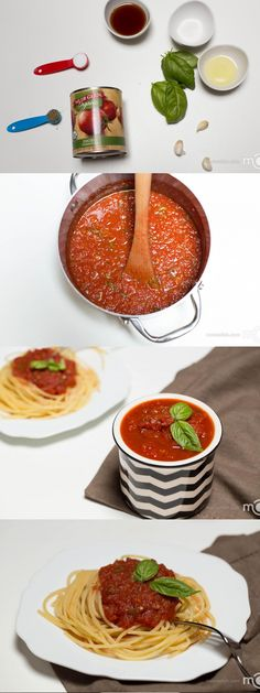 A true taste of Italy made at home in just 5 minutes. You wouldn't be able to get enough of this Marinara Sauce.