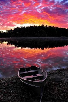 The Splendor of Nature ~ Maine Summer Sunset by the Lake, Photography Scott Thadd Grant Beautiful Sunset, Beautiful World, Beautiful Places, Simply Beautiful, Beautiful Morning, Amazing Places, Amazing Photography, Landscape Photography, Nature Photography