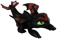 Dreamworks, Dragons Of Berk, Mini Racing Dragons, Toothless (Laying)