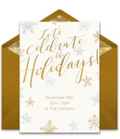 Free Xmas Invitations Interesting Online Invitations From  Merry Christmas Invitations And Party .