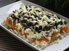 Рецепт этого салата будут выпрашивать все гости — Очень вкусный!   Самые вкусные кулинарные рецепты