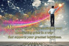 May your Higher Self recalibrate your manifesting grids in a way that supports your greatest happiness.  Get a Free week of the Daily Cups of Consciousness meditations. http://www.cupsofconsciousness.com/ Follow me on Facebook www.facebook.com/MeditationTransformation?ref=hl