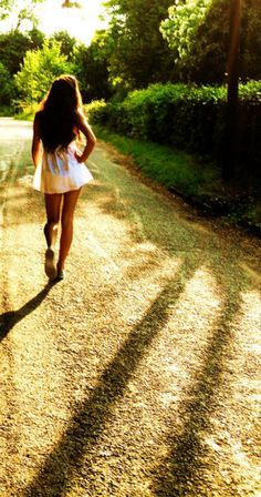 Put your hand on your hip and walk in like you own the place. Confidence is attractive.