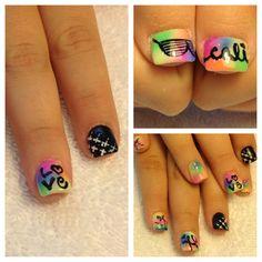 Nail design, nail art