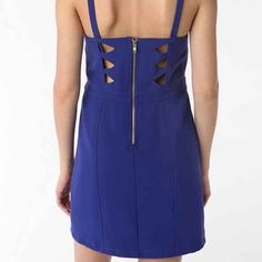 UO Sparkle & Fade Royal Blue Cut Out Dress Small UO Sparkle & Fade Royal Blue Cut Out Dress Small, gently worn, great dress Urban Outfitters Dresses