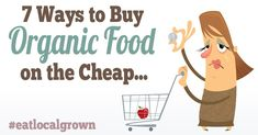 Why is Organic food so Expensive! (hint: It's not.) Here are some great tips on how to save money on Organic Food!