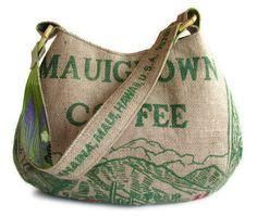 MTO. Su ordinazione. MauiGrown caffè Hobo Handbag e riproposto