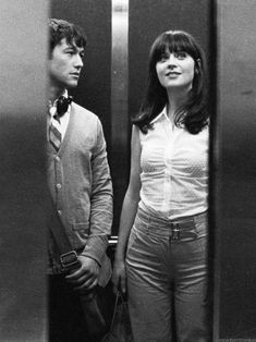 Joseph Gordon levitt and Zooey deschanel 500 days of summer, adorable!