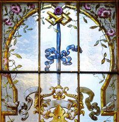 pingl par france vitrail international sur animals flowers in glass by france vitrail. Black Bedroom Furniture Sets. Home Design Ideas