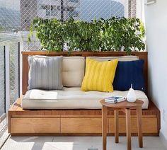 Sofá de madeira: 75 modelos incríveis para transformar sua casa