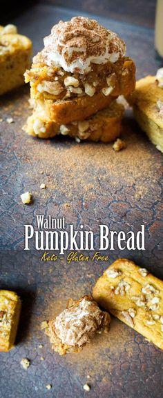 It's that time of year...Keto Pumpkin Bread!