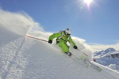 Off-piste powder skiing in the paradise that is St Anton in the Ahlberg, Austria