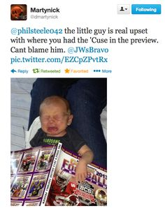 Some great twit pics we get from Phil Steele fans