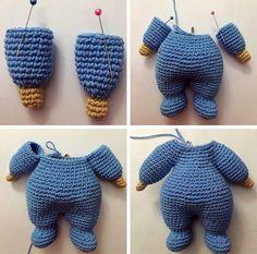 We add a very nice recipe to the Amigurumi toy models. Like our previous recipes, making amigurumi dolls is very good - Crochet Dolls Free Patterns, Crochet Doll Pattern, Crochet Bunny, Baby Knitting Patterns, Doll Patterns, Crochet Toys, Pattern Art, Free Crochet, Amigurumi Tutorial
