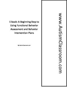 1 to 1 assistant's- autism, ADHD, & Special Education.  Free Ebook about Dealing with Challenging Behaviors #autism #classroom #autismclassroom Pinned by AutismClassroom.com Follow us at http://www.pinterest.com/autismclassroom/