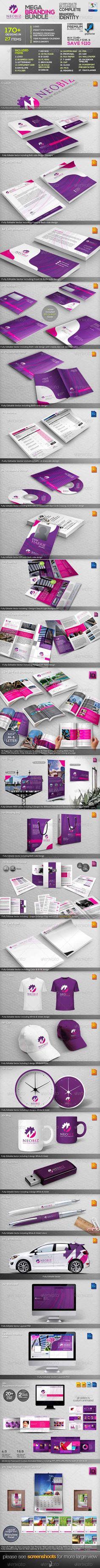 GraphicRiver  NeoBiz: Corporate Business ID Mega Branding Bundle 3427614 Free Download