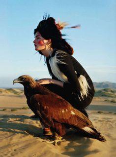 Kirsi Pyrhonen By Tim Walker For Vogue UK | December 2011