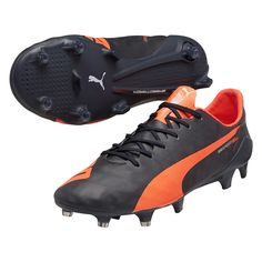 Sale Puma evoSPEED SL FG Men s Soccer Cleats Total Eclipse Lava Blast White 9db6aaf9ae