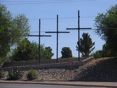 Las Cruces New Mexico Three Crosses Pictures  | Las Cruces, NM | Flickr - Photo Sharing!