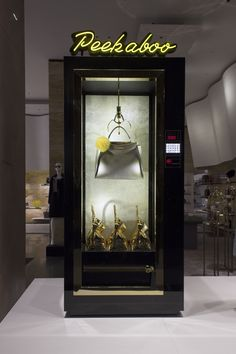 The new Fendi vending machine windows in New York