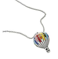 Hot Air Balloon Necklace Fossil