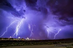 Never seen lightning like this! There's a huge strike every couple seconds... #azwx #AZmonsoon