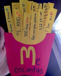 Para ti de mi 16 regalos románticos para hacer tú mismo en San Valentín ? cribeo