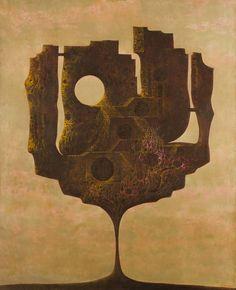 František Muzika - Velký Elsinor XI (olej a tempera na plátně, Collage Illustration, Illustrations, Psychedelic Rock, Rock Posters, Arte Popular, Conceptual Art, Tempera, Online Art Gallery, Architecture