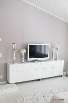 Coconut White: Lasiset maljakot olohuoneen tasolla New Room, Future House, Flat Screen, New Homes, House Ideas, Coconut, Living Room, Interior, Blog