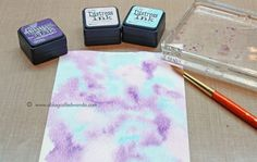 Bokeh tutorial by Wanda Guess for the Simon Says stamp Blog.