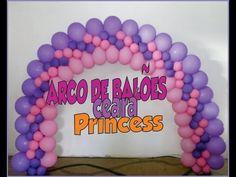 ARCO de BALÕES 3 Medidas diferentes - YouTube