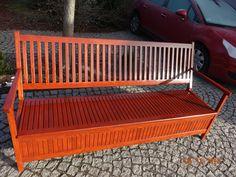 Wooden Storage Bench, Bench With Storage, Outdoor Furniture, Outdoor Decor, Home Decor, Decoration Home, Room Decor, Home Interior Design, Backyard Furniture