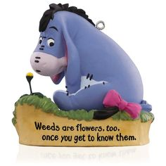 Dreambook 2015 - Disney Winnie the Pooh A Little Perspective Eeyore Ornament