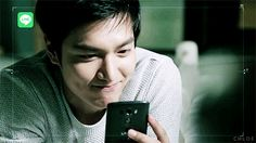 LMH ❤️ seriously had a major smile break out on my face ~~ Lee Min Ho's cute smile just makes me so happy ^_^