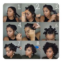 bantu knot out natural hair How To Curl Your Hair With The Help Of Bantu Knots Looking for some ways of how to do bantu knots hairstyles Twist out curls on relaxed hair inspiring styling ideas and handy tutorial are here! Cabello Afro Natural, Pelo Natural, Natural Hair Twists, Natural Curls, Wavy Curls, Bantu Knot Hairstyles, Hairstyles Haircuts, Protective Hairstyles, Protective Styles