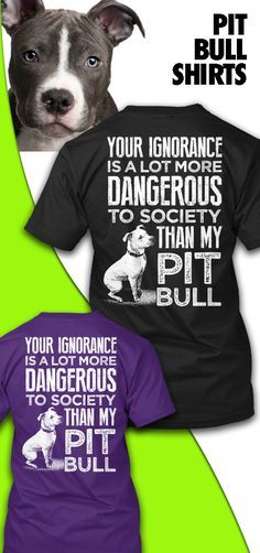 Awesome shirt showing the truth about Pit Bulls. Pit Bulls are a special dog.  Own this shirt today by going here -- http://teespring.com/ltdpit?pint=00