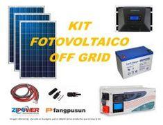 Kit Off Grid Energía Solar 3000W Full Off Grid, Kit, Solar Panels, Nature, Off The Grid